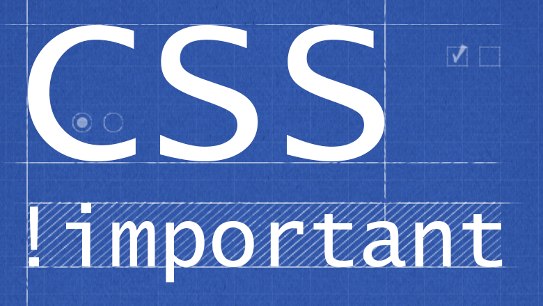 how to avoid important css
